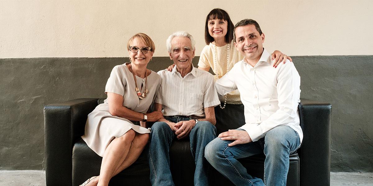 Una famiglia, una passione